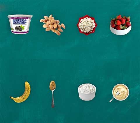 Snacks menos calorias