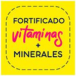 Fortificado vitaminas y minerales