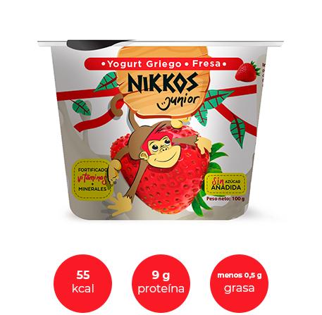 Dummie del producto Junior sabor fresa