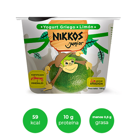 Dummie del producto de Junior sabor limón