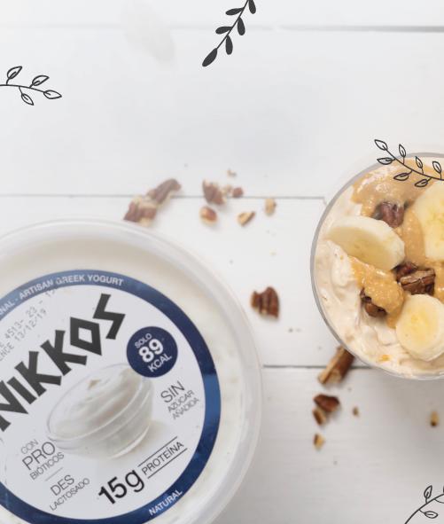 Mousse de Mantequilla de Maní con Yogurt griego
