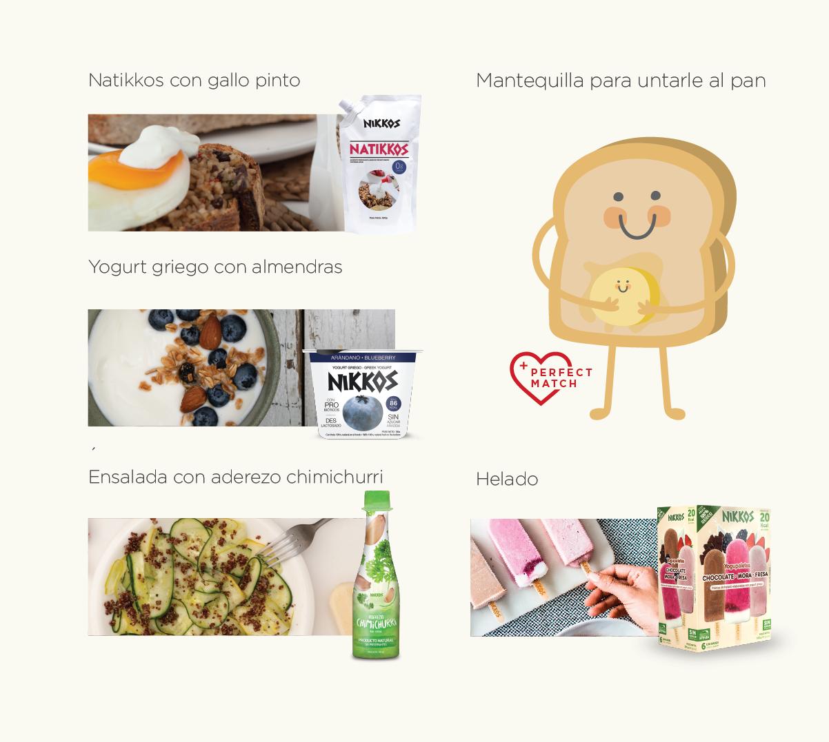 5 Deliciosas y saludable maneras de consumir Nikkos durante el día
