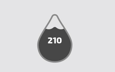 Vidrio-agua